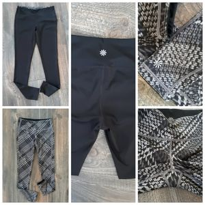 NWOT Athleta Reversible Leggings